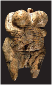 Female figurine - Conard, Hohle Fells Cave